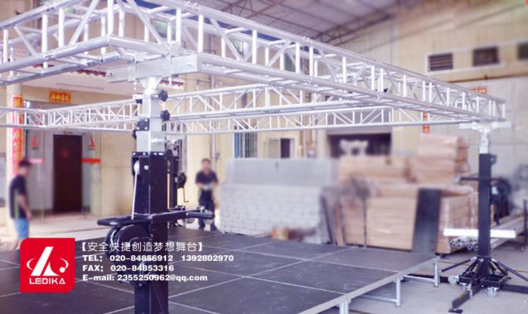 广州新利国际网址舞台设备有限公司,舞台搭建SQT001手摇立柱架